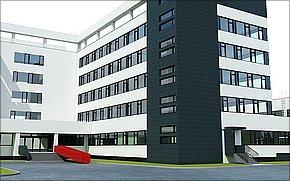 Business Centrum TESLA - vizualizácia