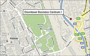 Downtown Business Centrum I - lokalita