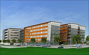 Downtown Business Centrum I - vizualizácia