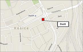 Duett Business Residence - lokalita