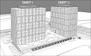 Duett Business Residence Košice