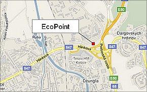 EcoPoint Košice - lokalita