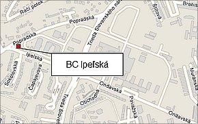 BC Ipeľská - lokalita