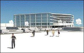 Vizualizácia - MEI Business Center Košice