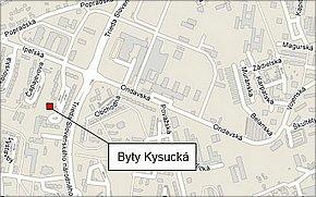 Byty Kysucká Košice - lokalita
