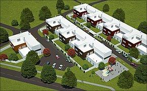 Bytové domy Malá Ida - vizualizácia