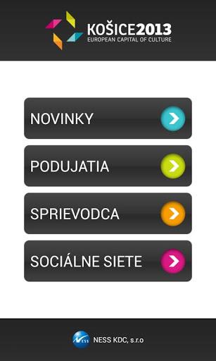 Aplikácia Kosice 2013