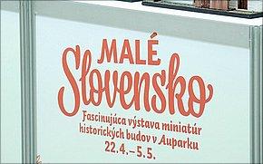 Výstava Miniatúry Slovenska - Aupark Košice