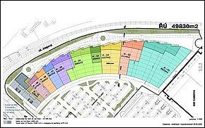 Mapa - Obchodno - Cassovia - 2. etapa Košice