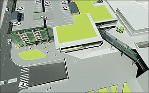 Vizualizácia Galéria Košice 3. etapa