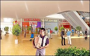 Galéria 2.etapa vizualizácia interiéru