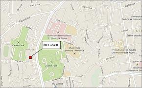 OC Luník II - lokalita