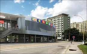Vizualizácia 2.etapa - OC Merkúr Košice