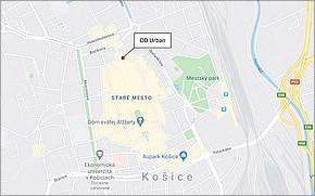 OD Urban Košice - Lokalita