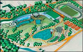 Vizualizácia - Aquapark Kechnec