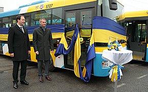 Nové autobusy DPMK už jazdia