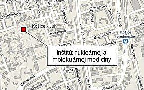 Inštitút nukleárnej a molekulárnej medicíny lokalita