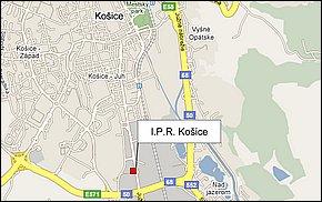 I.P.R. Košice - lokalita