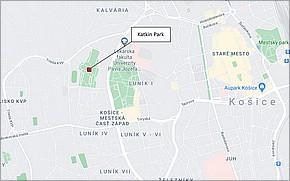 Revitalizácia Katkinho Parku - Lokalita