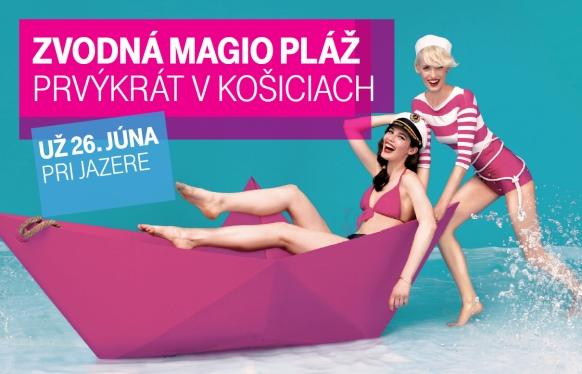 Magio pláž Košice