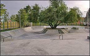 Betonový skatepark Košice