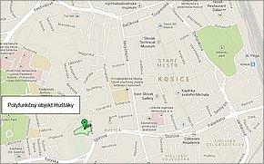 Huštáky Košice - lokalita