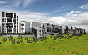 Bytový komplex Andromeda Košice Vizualizácia