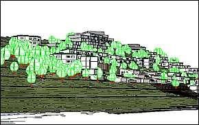 Vizualizácia - Terasová bytová výstavba Košice – Baránok