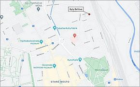 Byty Bellova Košice - Lokalita