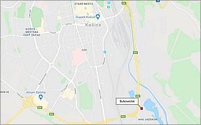 Bukovecká Košice - Lokalita