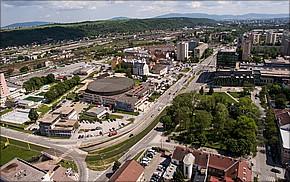 Projekt Corner House Košice - výstavba
