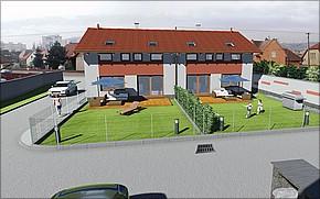 Vizualizácia - Domy Slovenská Košice