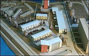 Model - Obchodno - Domy nad Jazerom Košice