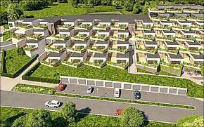 Projekt terasové byty Herberia Košice Košice