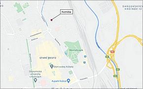 Byty Hutnícka Košice - Lokalita