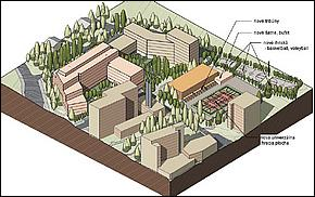 Vizualizácia - Internáty a štartovacie byty v Košiciach