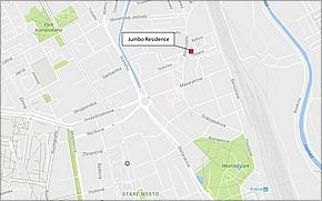 Projekt Jumbo Residence - lokalita