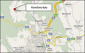 Lokalita - Byty Kavečany