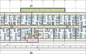 Bytový dom s polyfunkciou KLAS Košice Vizualizácia