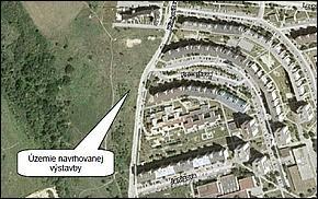 Mapa - Obchodno - Obytné domy Klimkovičová Košice