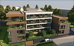 Projekt Kmeťova residence Košice