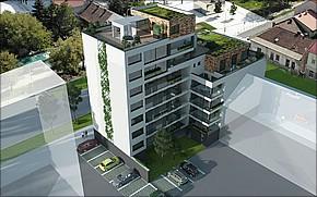 KZC Residence Košice Vizualizácia