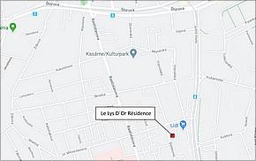Résidence Le Lys d'or Košice - Lokalita