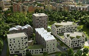 Vizualizácia - Nová terasa Košice