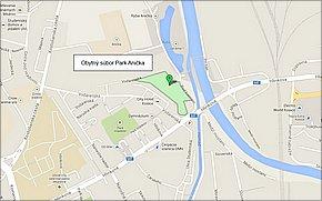 Obytný súbor Park Anička - lokalita