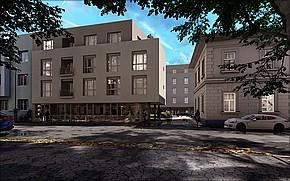 Rezidencia Centrum Košice Vizualizácia