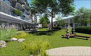 Obytný komplex Urban Jungle Park Košice Vizualizácia