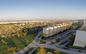 Projekt Veža Euphoria Košice - lokalita