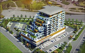 Projekt Veža Euphoria Košice - vizualizácia