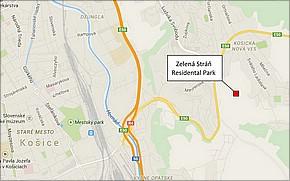 ZELENÁ STRÁŇ RESIDENTIAL PARK - lokalita